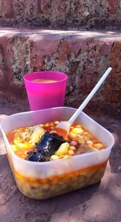 Vito, ración frugal de comida by Pedro Méndez